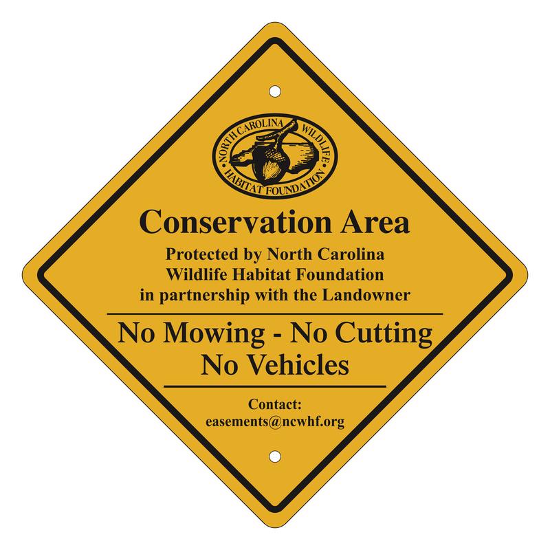 Conservation Easement Sign